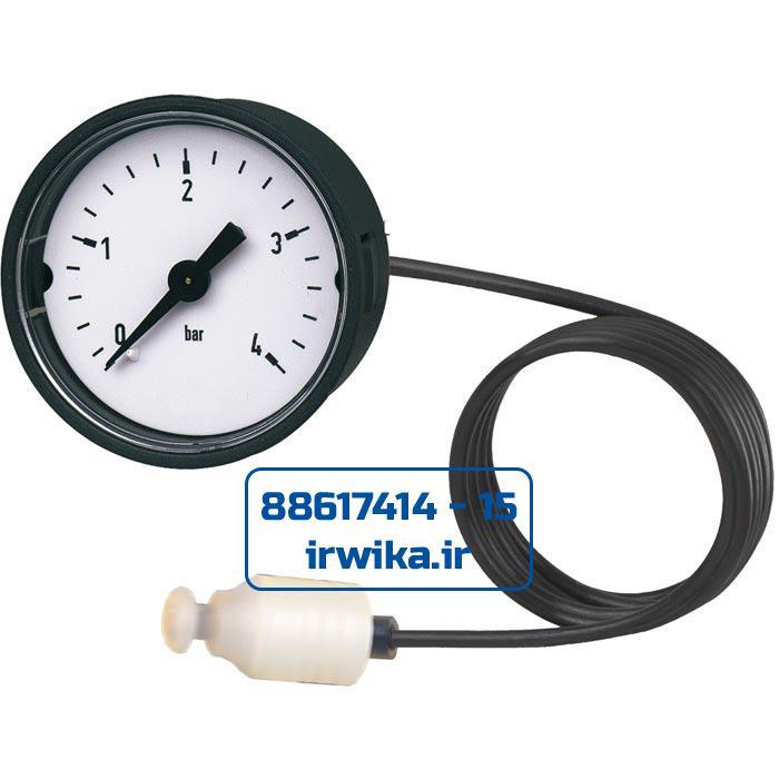 Bourdon tube pressure gauge model 101.00.040