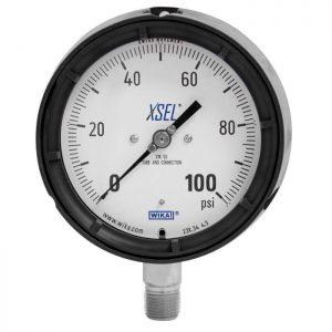 pressure gauge 232.34, 233.34