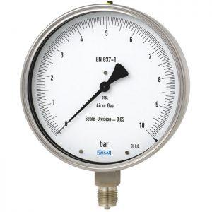 test gauge 332.50 , 333.50