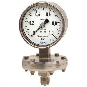 432.56, 432.36 Diaphragm pressure gauge
