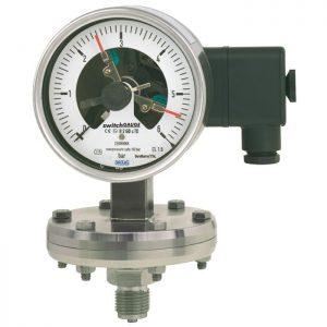 Contact pressure gauges 432.36+8xx,-432.56+8xx