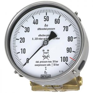 712.15.160,732.15.160 Differential pressure gauge