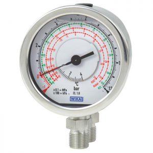 732.18, 733.18 Differential pressure gauge