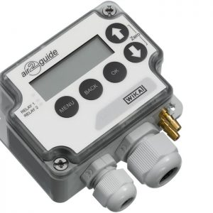 For ventilation and air-conditioning, with switch and digital display A2G-45