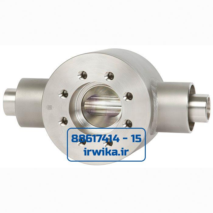 Block flange adapter for jacketed pipes, model 910.23