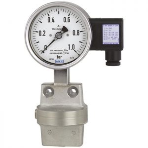Differential pressure gauge DPGT43.100,-DPGT43