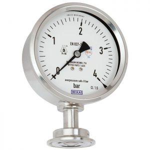 Diaphragm pressure gauge PG43SA-S
