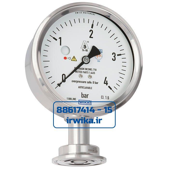 pressure gauge PG43SA_D