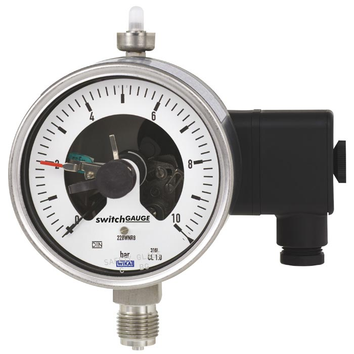 Contact pressure gauges PGS23.100,PGS23.160