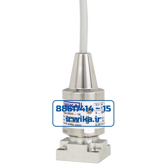 Ultra high purity transducer WUC-16