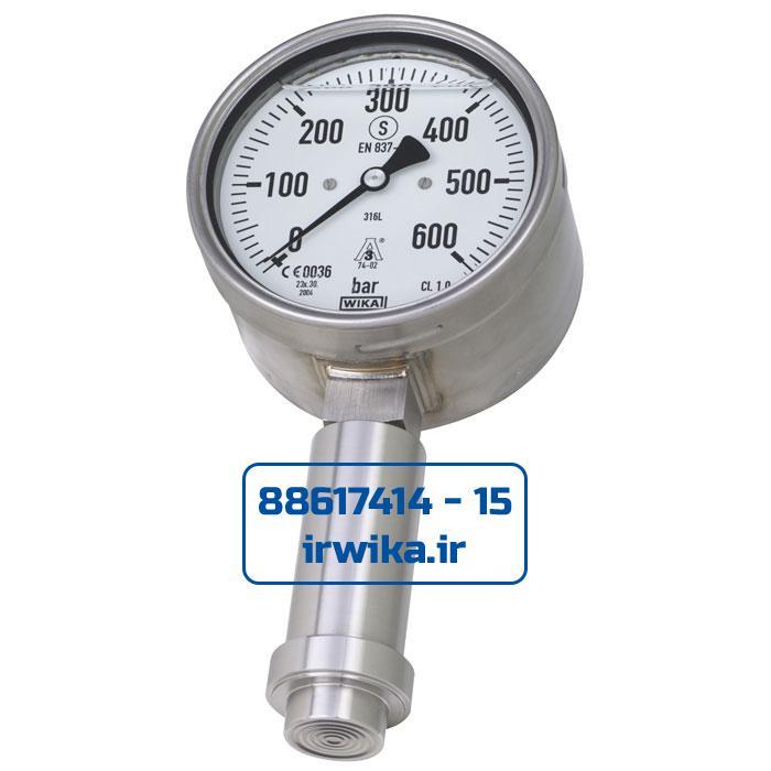 With-pressure-gauge