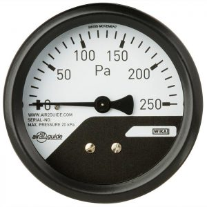 Differential pressure gauge A2G-mini
